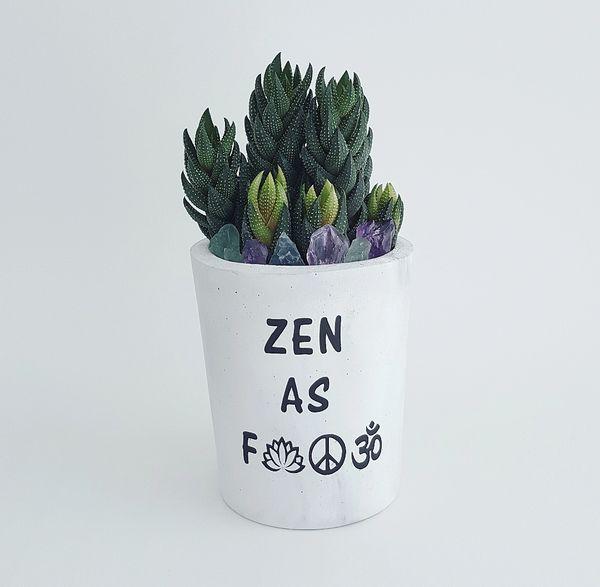 Cement Planter- Zen AF