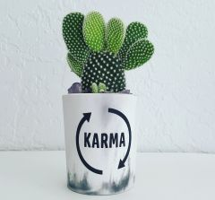 Cement Planter - Karma