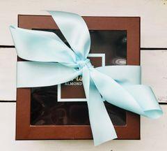 Two Pound Box Classic White Chocolate Almond Toffee