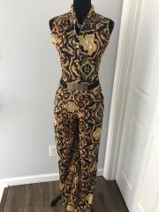 Chained Printed Jumpsuit