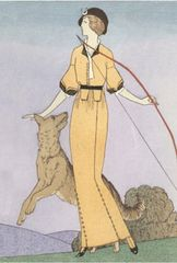'Diana The Huntress' Stunning Art Deco Barbier Illustration Greeting Card