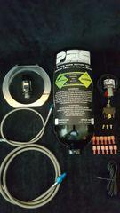 2.5lb nitrous kit with billet bottle bracket
