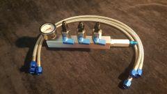 Nitrous Bottle 4an Manifold fill kit (ball valve)