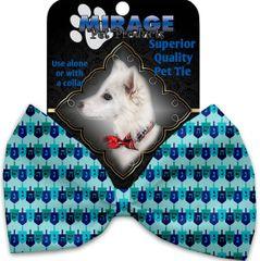 DOG BOW TIE: Decorative & Classy Silky Polyester Bow Tie for Dogs - DREILDEL, DREIDEL, DREIDEL
