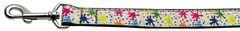 Nylon Dog Leashes: Splatter Paint Nylon Dog Leash Mirage Pet Products USA