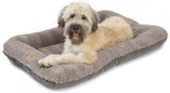 Dog Beds: Heyday Bed with Microsuede Dog Bed MEDIUM Heavy Duty Stain Resistant West Paw Design USA