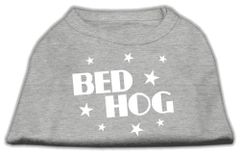 Dog Shirts: BED HOG Screen Print Dog Shirt in Various Colors & Sizes by Mirage