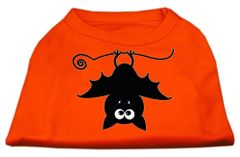 Dog Shirts: HALLOWEEN Day Screen Print Dog Shirt in Various Colors & Sizes by MiragePetProducts - BATSY THE BAT