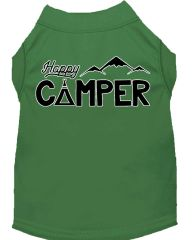 Dog Shirts: Cute Screen Print Dog Shirt in Various Colors & Sizes by MiragePetProducts - HAPPY CAMPER