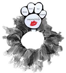 Smoochers Dog Collars: Halloween Smoocher Dog Collar Mirage Pet Products - GHOST