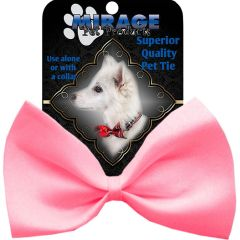 DOG BOW TIE: Decorative & Classy Silky Polyester Bow Tie for Dogs in 3 Different PINK Colors