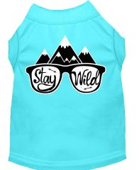 Dog Shirts: Cute Screen Print Dog Shirt in Various Colors & Sizes by MiragePetProducts - STAY WILD