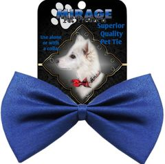 DOG BOW TIE: Decorative & Classy Silky Polyester Bow Tie for Dogs in 11 Different PLAIN Colors