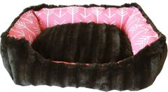 Dog Beds: Wanderlust Pet Dogs Reversible Machine Washable Sizes XS, Sm, Md - Made in USA