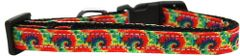 Dog Collars: Nylon Ribbon Collar by Mirage Pet Products USA - TIE DYE