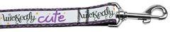 Nylon Dog Leashes: Wickedly Cute Nylon Dog Leash Mirage Pet Products USA