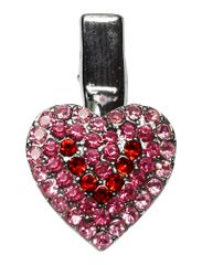 Dog Grooming Accessories: Heart Shape Clip for dogs Several Colors Choices by Mirage