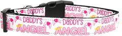 Dog Collars: Nylon Ribbon Collar by Mirage Pet Products USA - DADDY'S ANGEL