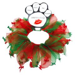 Smoochers Dog Collars: Smoocher Dog Collar Mirage Pet Products - CHRISTMAS BONE