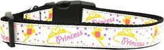 Dog Collars: Nylon Ribbon Collar by Mirage Pet Products USA - PRINCESS