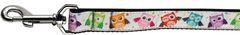Nylon Dog Leashes: Bright Owls Nylon Dog Leash Mirage Pet Products USA