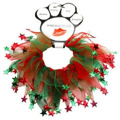 Smoochers Dog Collars: CHRISTMAS STAR Smoocher Dog Collar Mirage Pet Products