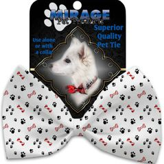 DOG BOW TIE: Decorative & Classy Silky Polyester Bow Tie for Dogs - SWEET PAWS