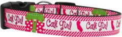 Dog Collars: Nylon Ribbon Dog Collar Mirage Pet Products - CALI GIRL