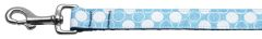 Nylon Dog Leashes: Diagonal Dots Nylon Dog Leash Mirage Pet Products USA