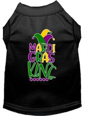 Dog Shirts: Dog Shirt Screen Print in Various Colors & Sizes by MiragePetProducts - MARDI GRAS KING