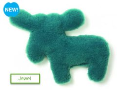 "DOG TOYS: Madison Moose Shape 11"" Dog Toy Eco-Friendly Snuggly Material USA"