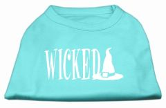 Dog Shirts: WICKED Screen Print Dog Shirt in Various Colors & Sizes by Mirage