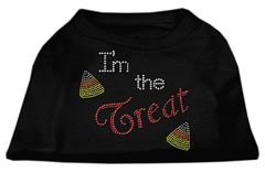 Dog Shirts: I'M THE TREAT Rhinestone Dog Shirt in Various Colors & Sizes by Mirage