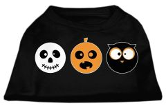 Dog Shirts: HALLOWEEN Day Screen Print Dog Shirt in Various Colors & Sizes by MiragePetProducts - THE SPOOK TRIO