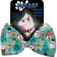 DOG BOW TIE: Decorative & Classy Silky Polyester Bow Tie for Dogs - FROSTY & FRIENDS