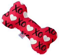 PET TOYS: Durable Bone Shape Pet Toy XOXO in 3 Sizes & Styles Made in USA by MiragePetProducts