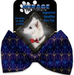 DOG BOW TIE: Decorative & Classy Silky Polyester Bow Tie for Dogs - MENORAH MADNESS
