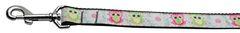 Nylon Dog Leashes: Sweet as Sugar Owls Nylon Dog Leash Mirage Pet Products USA