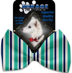 DOG BOW TIE: Decorative & Classy Silky Polyester Bow Tie for Dogs in 7 Different STRIPE Designs