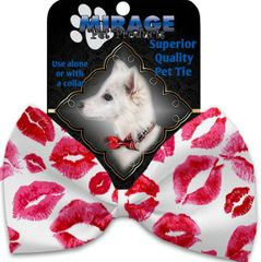 DOG BOW TIE: Decorative & Classy Silky Polyester Bow Tie for Dogs - SMOOCHERS