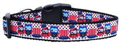 Dog Collars: Nylon Ribbon Collar by Mirage Pet Products USA - PROUD OWLS