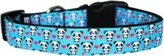 Dog Collars: Fun Nylon Dog Collar by Mirage Pet Products - PANDA LOVE