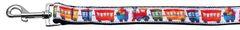 Nylon Dog Leashes: Trains Ribbon Nylon Dog Leash Mirage Pet Products USA