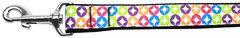 Nylon Dog Leashes: Bright Diamonds Nylon Dog Leash Mirage Pet Products USA