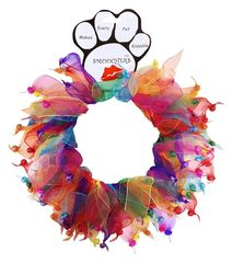 Smoochers Dog Collars: Smoocher Dog Collar Mirage Pet Products - CONFETTI BELL
