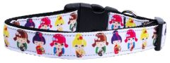 Dog Collars: Nylon Ribbon Collar by Mirage Pet Products USA - CRAZY FOR KIMONOS