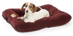 Dog Beds: Heyday Bed with Microsuede Dog Bed SMALL Heavy Duty Stain Resistant West Paw Design USA