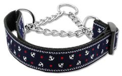 Martingale Dog Collars: Nylon Ribbon Dog Collar Mirage Pet Products USA - ANCHORS