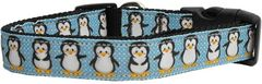 Dog Collars: Nyon Ribbon Collar by Mirage Pet Products USA - PENGUINS