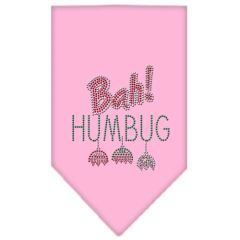 Dog Bandanas: Rhinestone Dog Bandana 'BAH! HUMBUG' Different Colors in Small or Large by Mirage USA